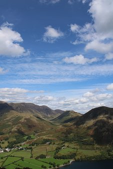 Mountains, Beautiful Sky, Landscape, Hiking, Hills