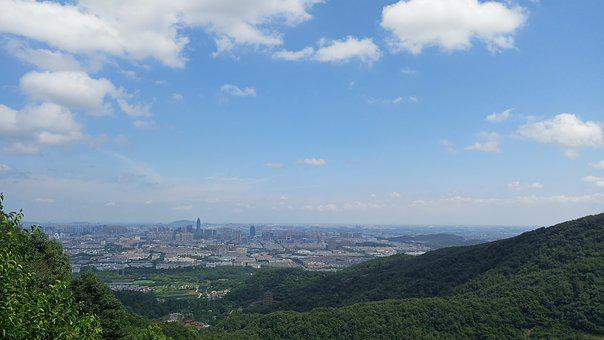 Mountains, Shaoxing, The Scenery, Incense Burner Peak