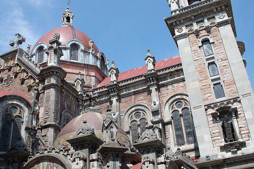 Spain, Asturias, Oviedo, Cathedral, Gothic, Building