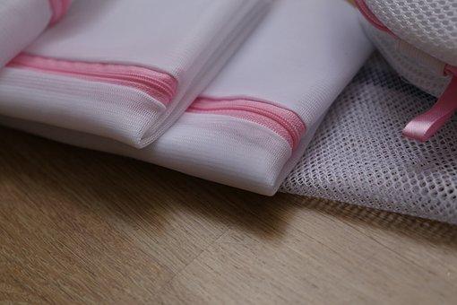 Washingbags, Laundrybags, Display, Pink, Washing Bag