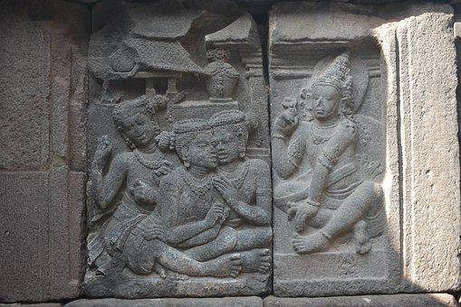 Carving, Hinduism, Ancient, Unesco, Asia, Indonesia