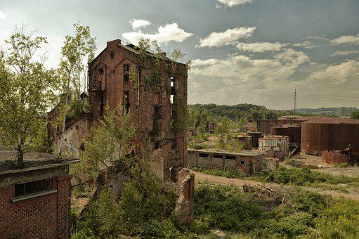 Ruins, Old, Abandoned, Building
