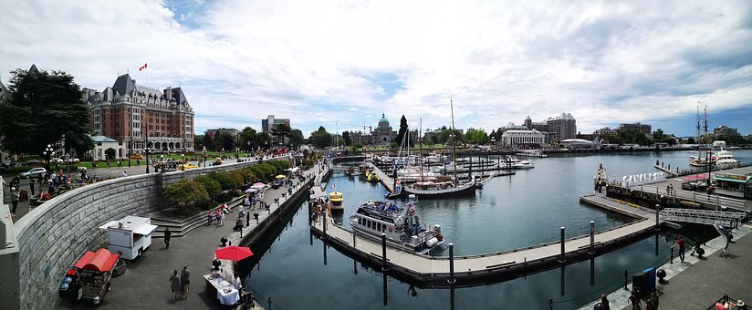 Victoria Island, Canada, Fairmont Hotel, Parliament