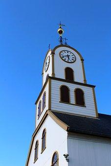 Havnar Kirkja, Tórshavn, Torshavn, Church Steeple