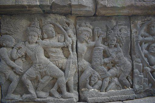 Carving, Hinduism, Unesco, Prambanan, Temple, Indonesia