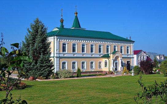 Orthodox Skete, Monastery, Refectory, Building