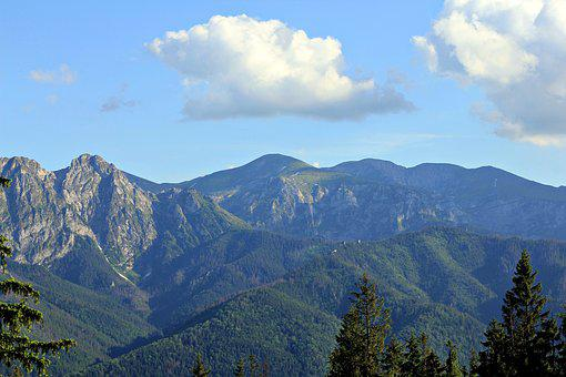 Buried, Poland, Tatry, Landscape, Mountains, Nature