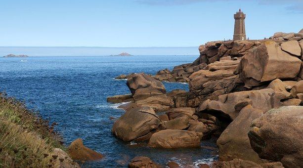 Ploumanac'h, Brittany Sea Coast, Pierre, Perros-guirec