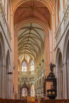 Cathédrale Saint-corentin, Quimper, France, Church