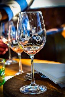 Wine Glass, Wine, Alcohol, Drink, Babylostroren