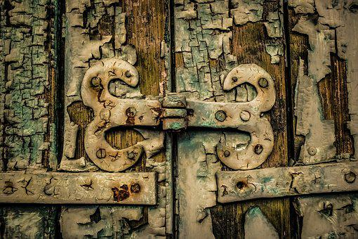 Hinge, Joint, Antique, Old, Surface, Rusty, Aged