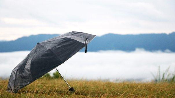 Sajek, Sajek Valley, Umbrella, Bangladesh