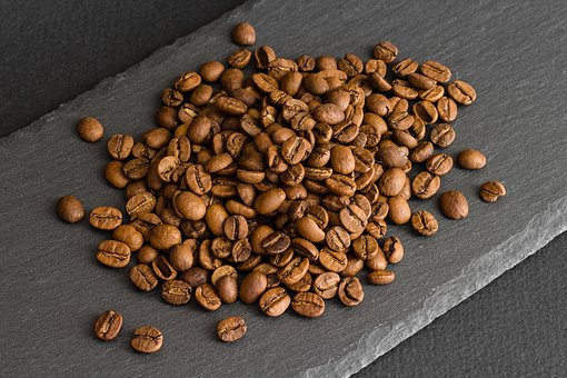 Coffee, Beans, Caffeine, Aroma, Brown, Roasted, Cafe