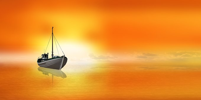 Emotions, Nature, Rest, Sailing Boat, Boat, Water, Sea
