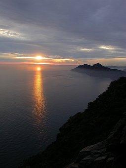 Spain, Murcia, Nature, Landscape, Coast, Sunset