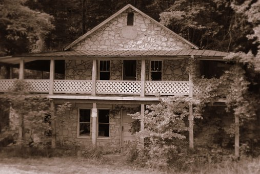 Haunted, House, Dark, Spooky, Building, Old, Abandoned
