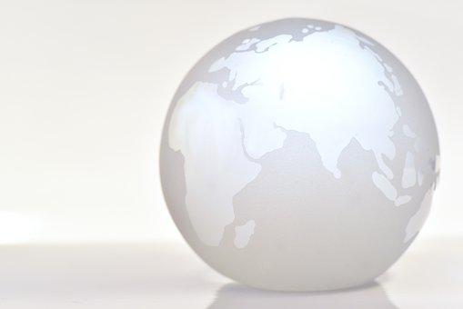 World, Earth, Globe, Background, Glass, Glass Ball