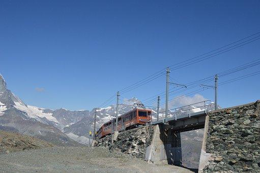 Gornegrat, Gornegrat Bahn, Tourism, Mountain, Rock
