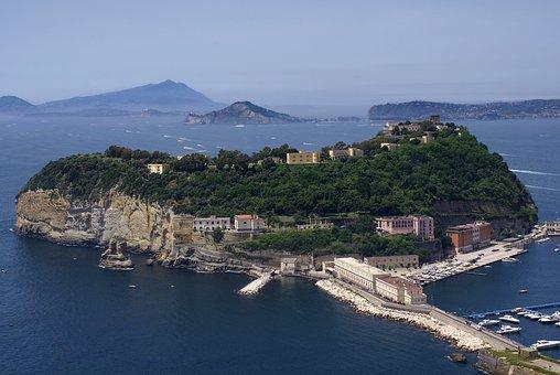 Nisida, Naples, Campania, Italy, Gulf, Island