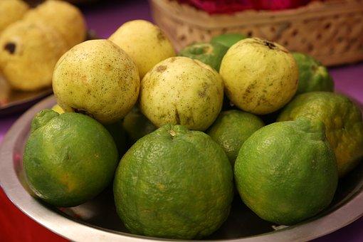 Guava, Indian Guava, Jaama Kaaya, Jaama Pandu