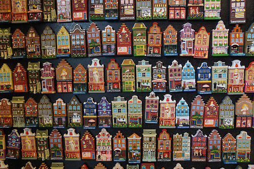 Amsterdam, House, Magnet, Holland, Architecture