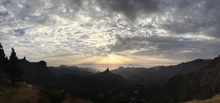 Roque Bentayga, Gran Canaria, Mountains, Nature