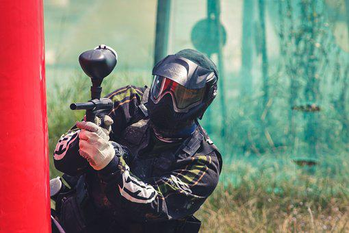 Paintball, Marker, Weapon, Play, Sport, Shoot