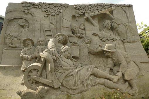 Sand Sculptures, Art, Sculpture, Painting, Garderen