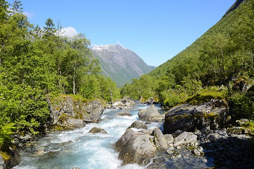 Nature, Trollstigen, Norway