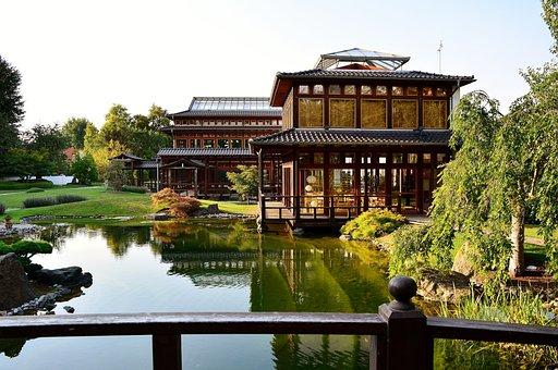 Japanese Garden, Bad Langensalza, Thuringia Germany