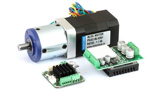 Planetary Gear Bldc Motor, Bldc Controller, Bldc Driver