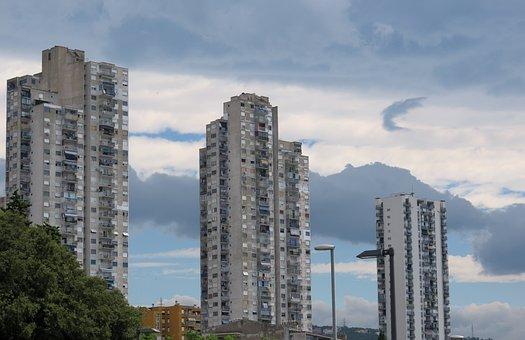 Rijeka, Croatia, Skyscrapers, Skyscraper, Building