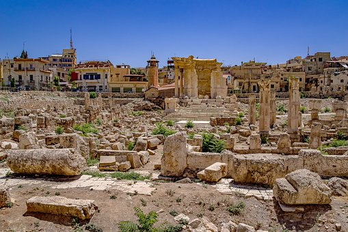 City, Roman, Temple, Antique, Antiquity, Ruin