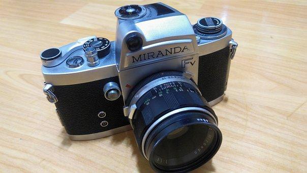 Miranda Camera, Miranda Fv, Old, Classic Camera