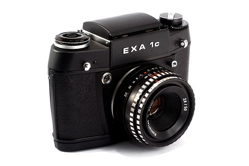 Slr, Analog, Exa, Lens, Old Camera