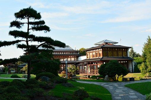 Japanese Garden, Thuringia Germany, Bad Langensalza