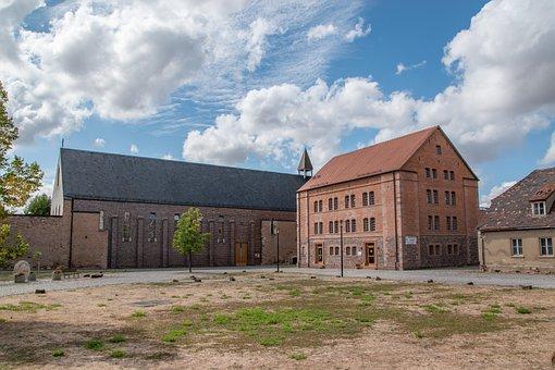 Monastery, Helfta, Saxony-anhalt, House, Building