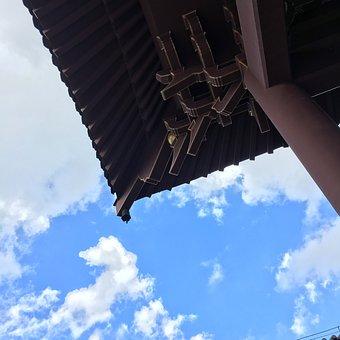 Qingxiu Mountain, Eaves, Sky