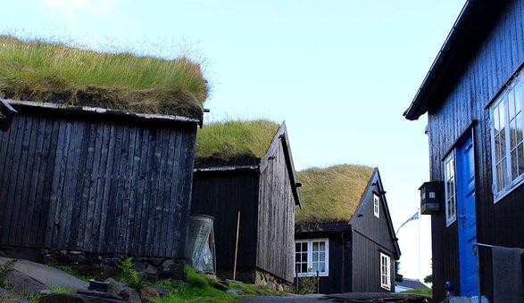 The Promontory, Wooden Houses, Tórshavn, Torshavn