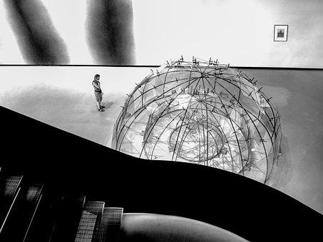 Maxxi, Museum, Construction, Architecture, Contrast