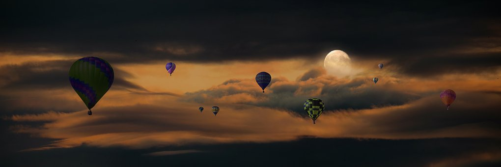 Travel, Emotions, Flying, Balloon, Vacations, Adventure