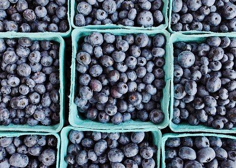 Blueberries, Berries, Fruit, Delicious, Healthy, Fresh