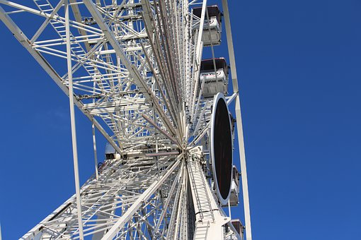 Ferris Wheel, Paris, Jardin Des Tuileries