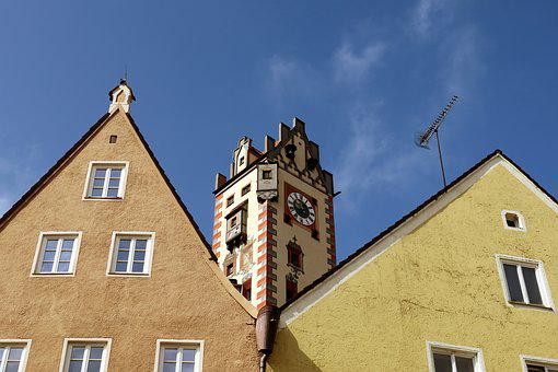 Füssen, High Castle, Castle, Places Of Interest