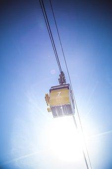 Gondola, Alpine, Landscape, Cable Car, Nature