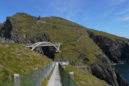 Mizen, Head, Ireland, Footbridge, Atlantic, Cliff