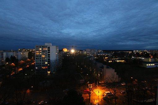 Neuperlach, Night, Perlach, Munich