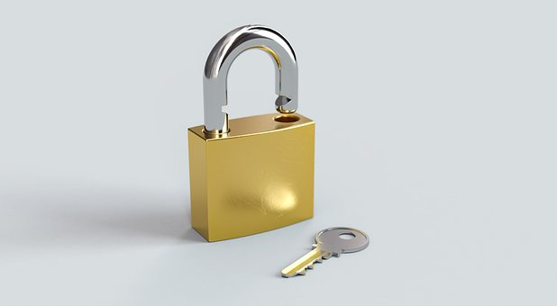 Padlock, Key, Lock, Security, Safety, Access