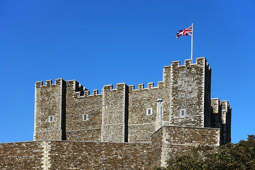 Castle, Keep, Fortress, Defence, Dover, Protection
