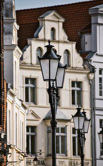 Wismar, Old, Shabby, Antique, Building, Historic Center
